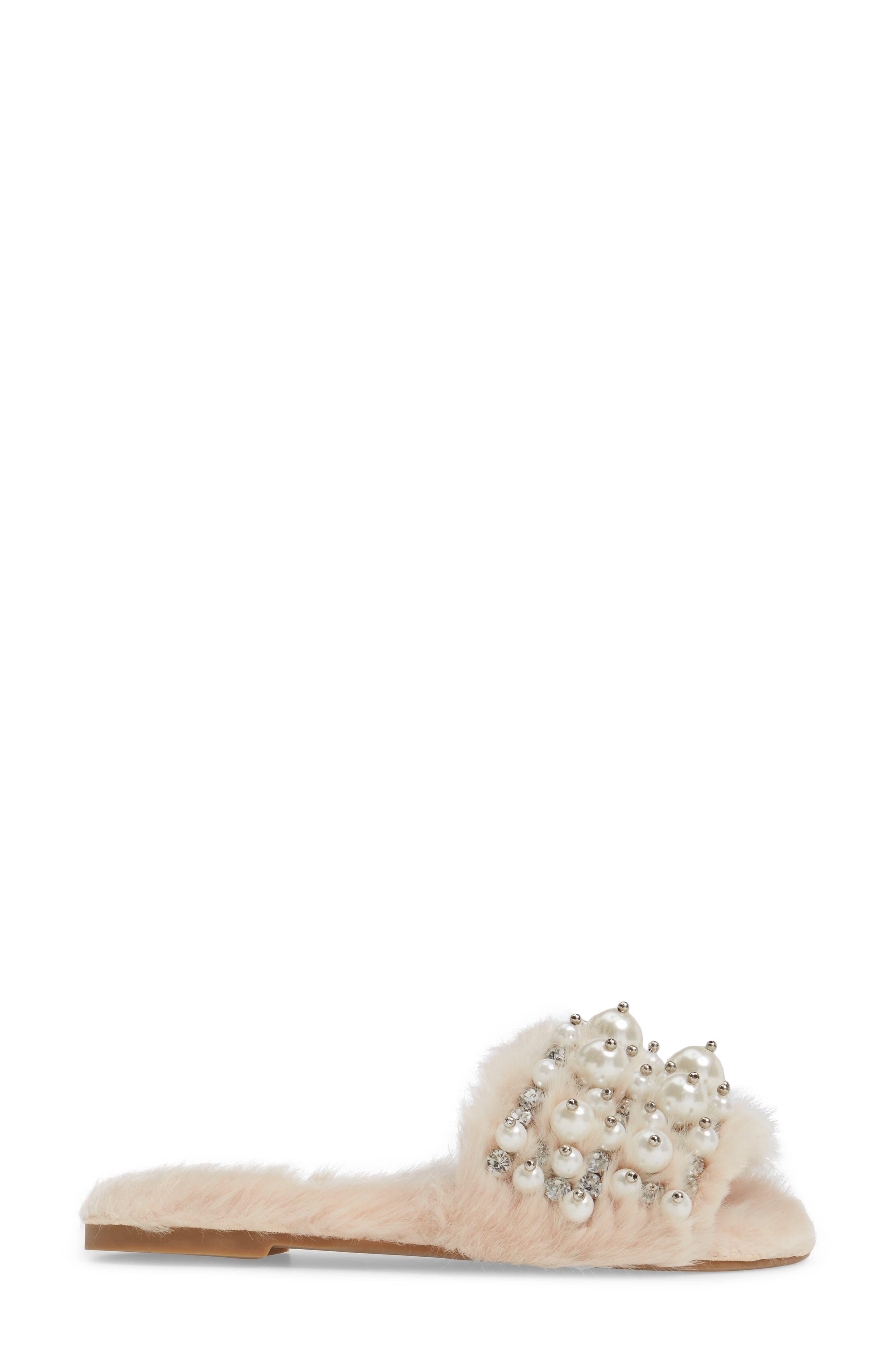 ,                             Facil Embellished Slide Sandal,                             Alternate thumbnail 9, color,                             287