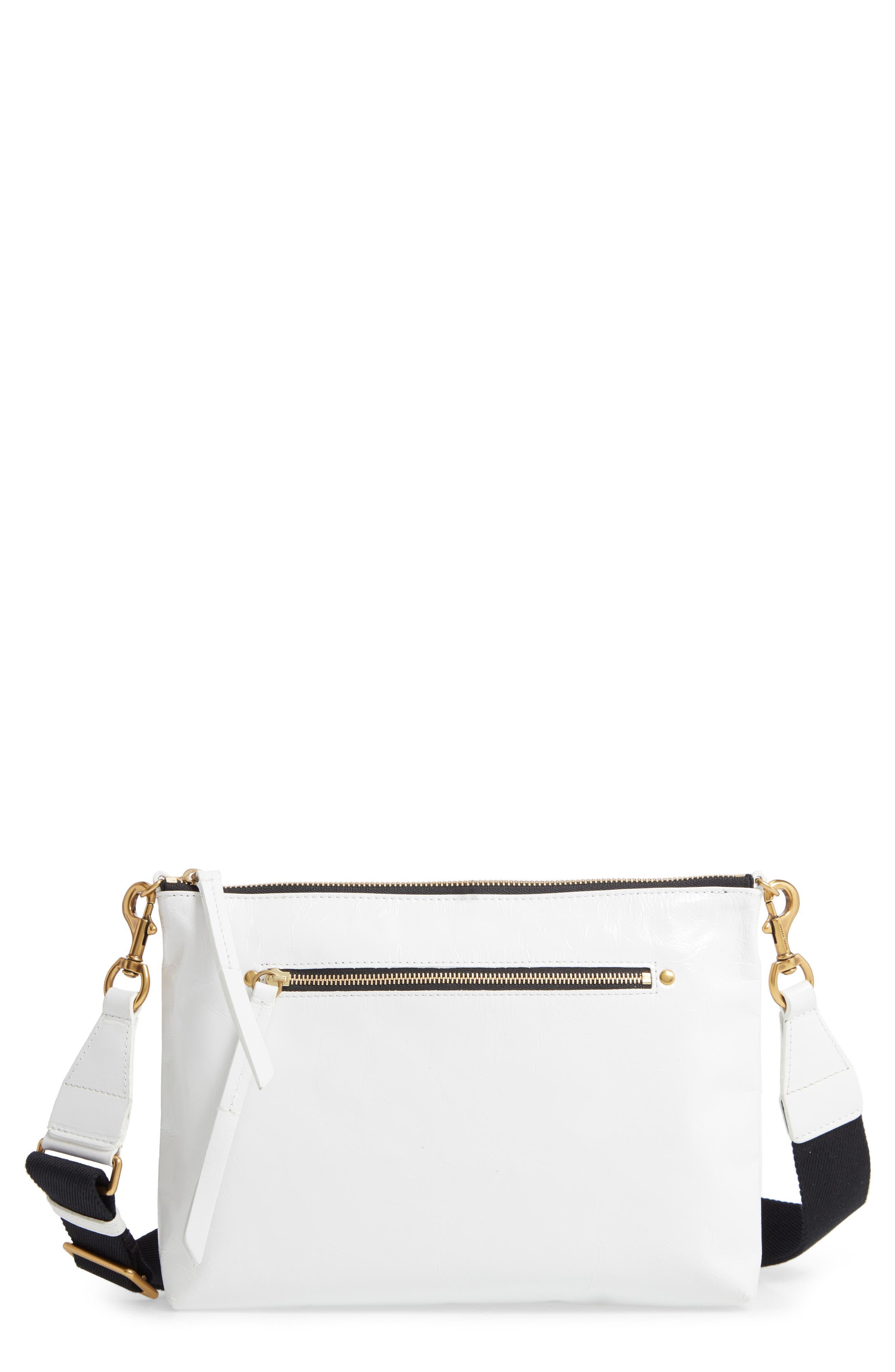 Isabel Marant New Nessah Calfskin Leather Crossbody Bag | Nordstrom