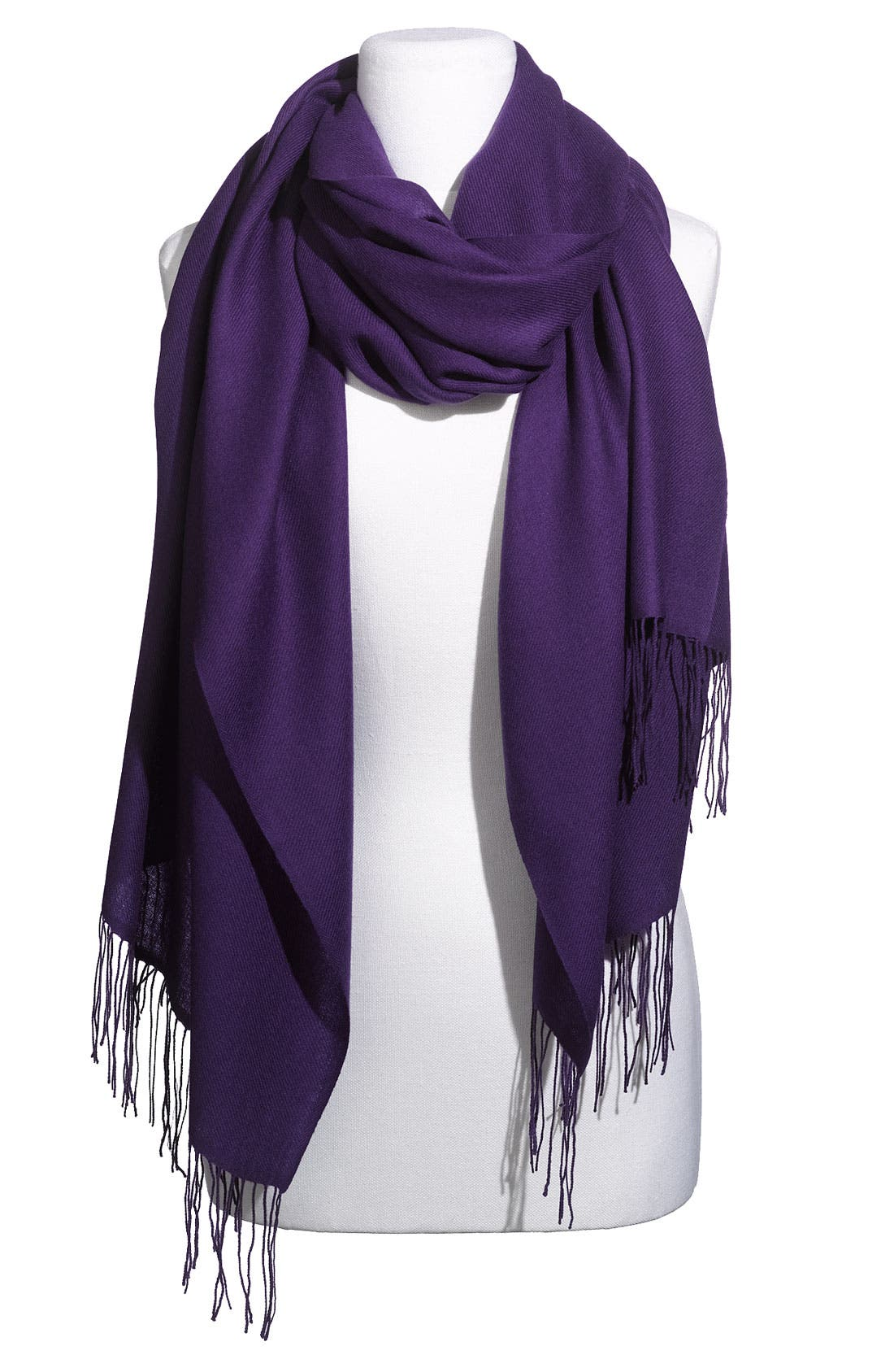 ,                             Tissue Weight Wool & Cashmere Wrap,                             Main thumbnail 123, color,                             500