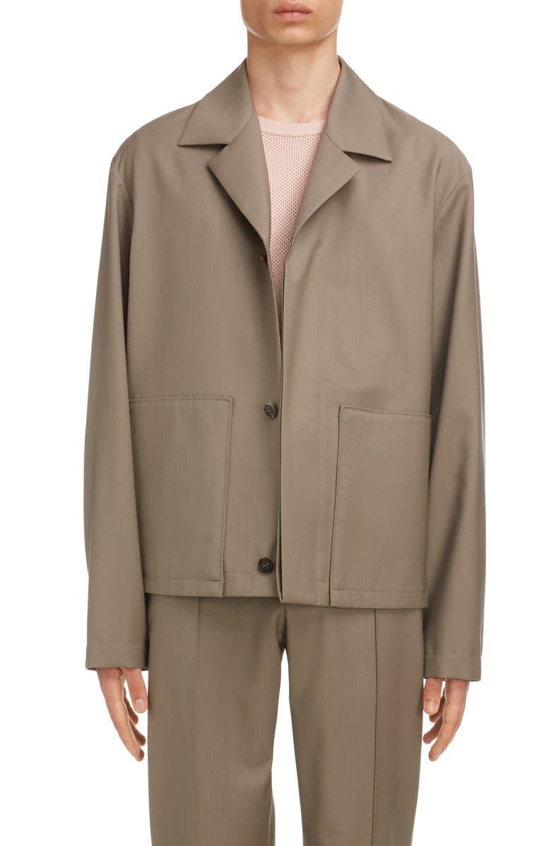 MAISON MARGIELA Maison Margeila Wool & Mohair Jacket, Main, color, 250