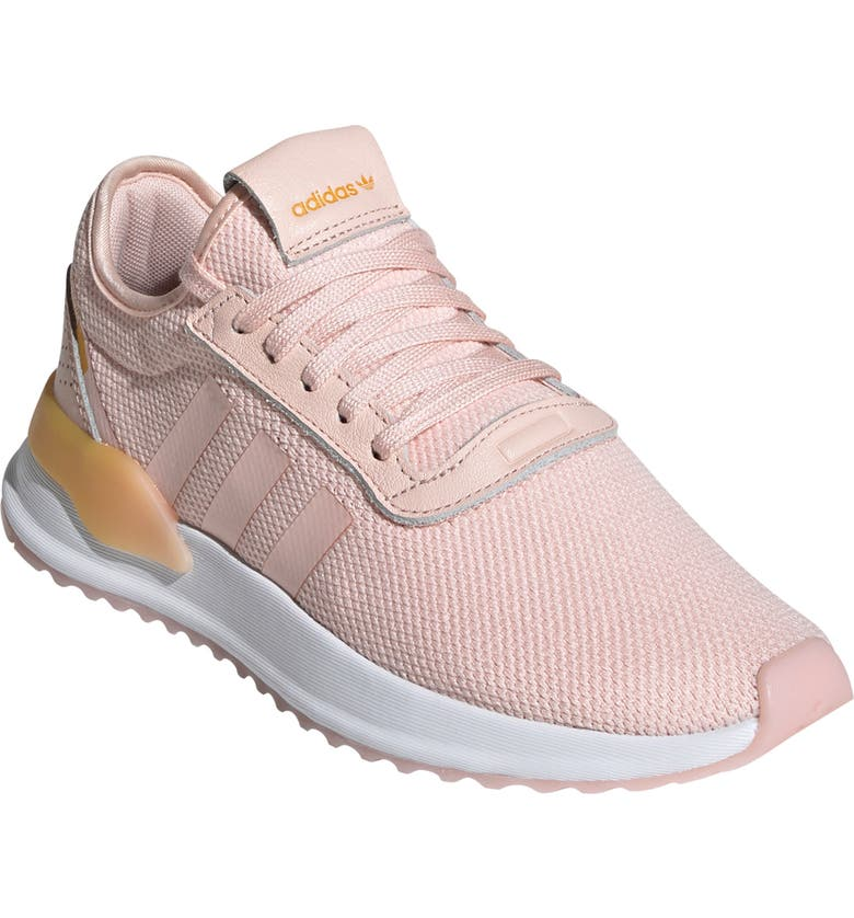 ADIDAS U-Path Run Sneaker, Main, color, ICEY PINK/ WHITE