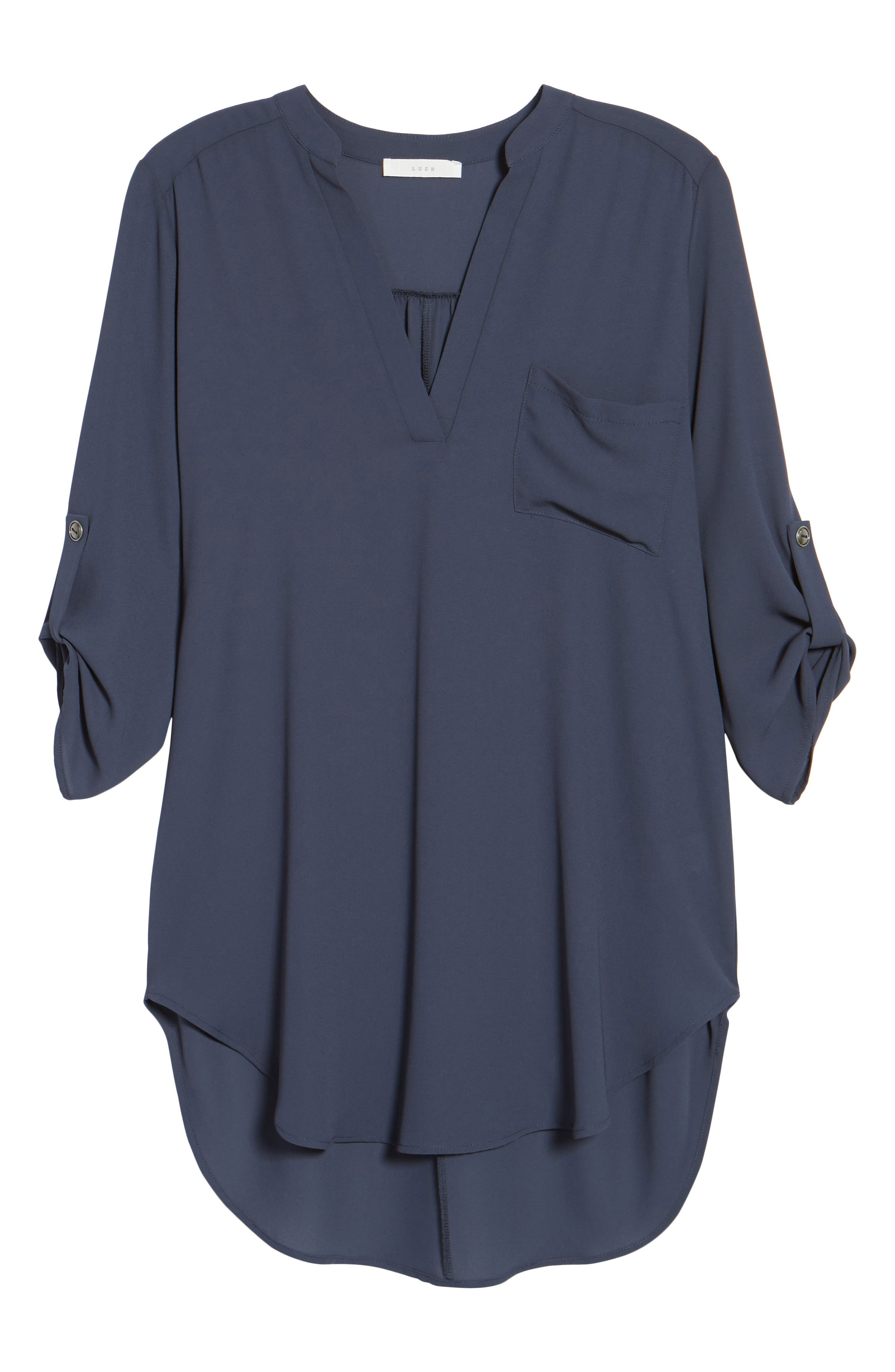 ,                             Perfect Roll Tab Sleeve Tunic,                             Alternate thumbnail 39, color,                             099