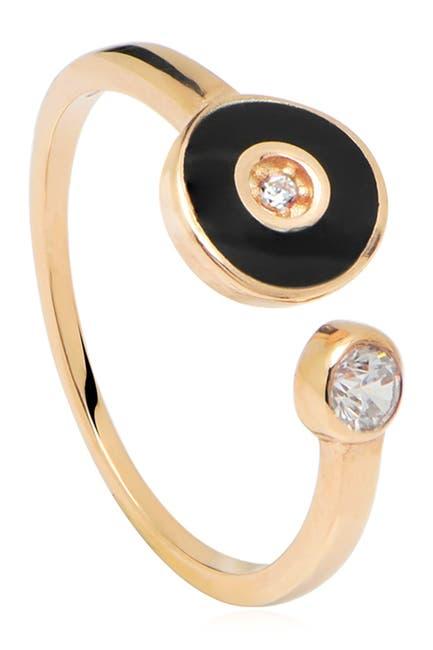 Image of Gabi Rielle Enamel Adjustable Eye Ring