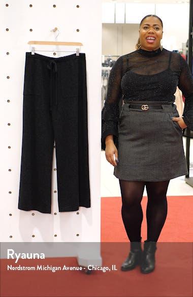 Wool & Cashmere Wide Leg Pants, sales video thumbnail