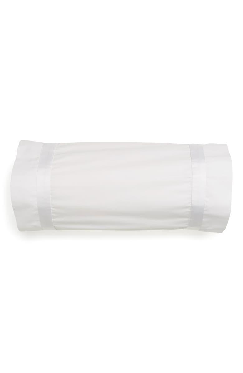 MATOUK Lowell 600 Thread Count Neckroll Sham, Main, color, WHITE