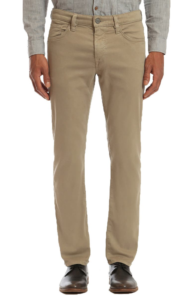 34 HERITAGE Courage Straight Leg Pants, Main, color, MUSHROOM