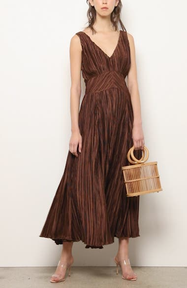 Angela Buckle Back Maxi Dress, video thumbnail