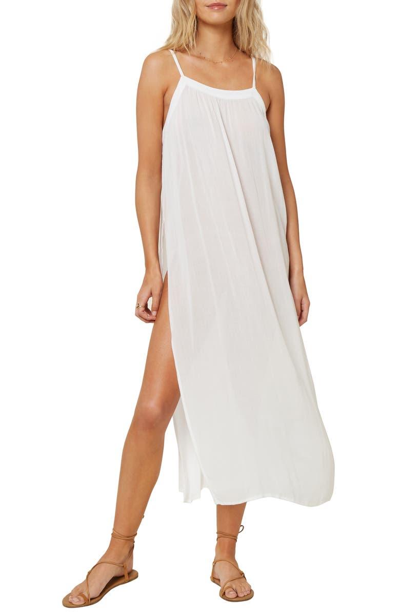O'NEILL Layna Cover-Up Midi Dress, Main, color, 100