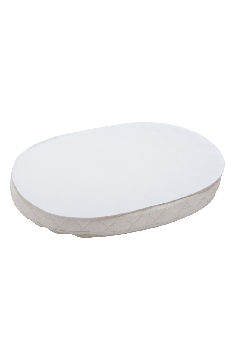 STOKKE Sleepi<sup>™</sup> Mini Waterproof Oval Sheet, Main, color, WHITE