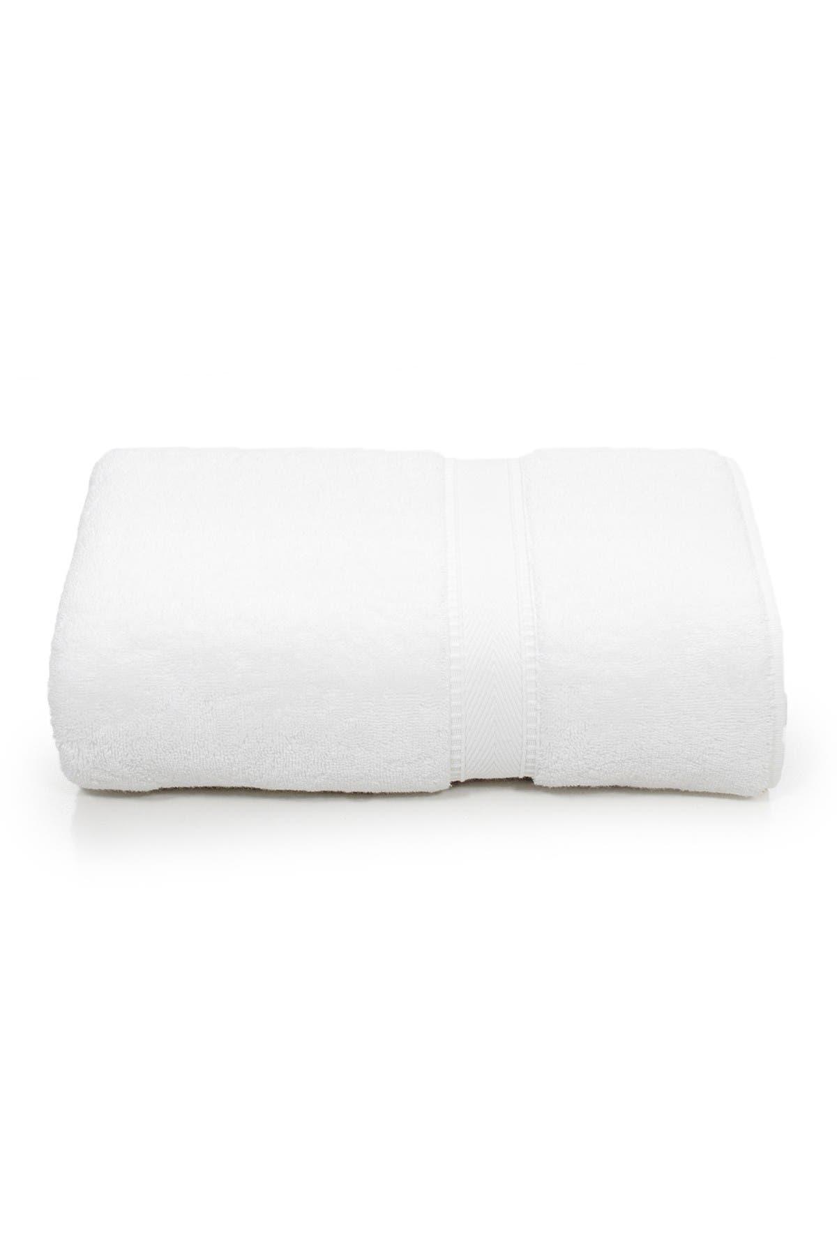 Image of LINUM HOME Sinemis Terry Bath Towel - White