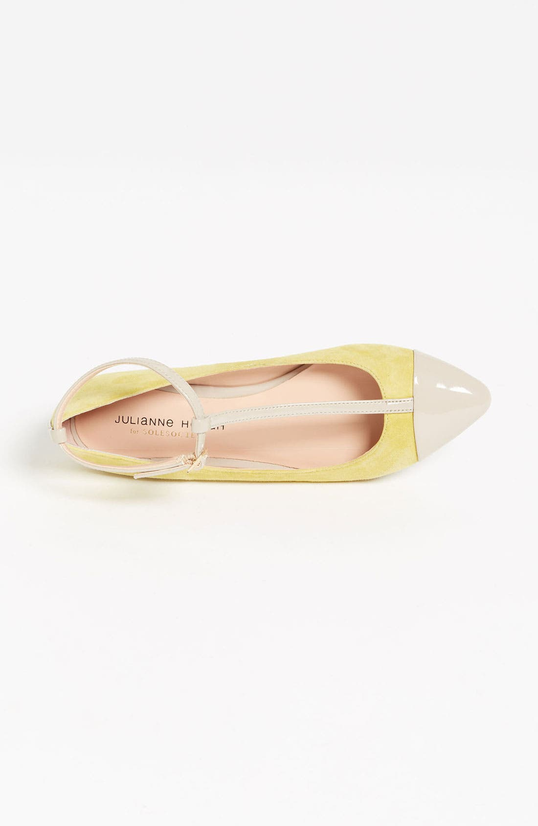 ,                             Julianne Hough for Sole Society 'Addy' Flat,                             Alternate thumbnail 32, color,                             330