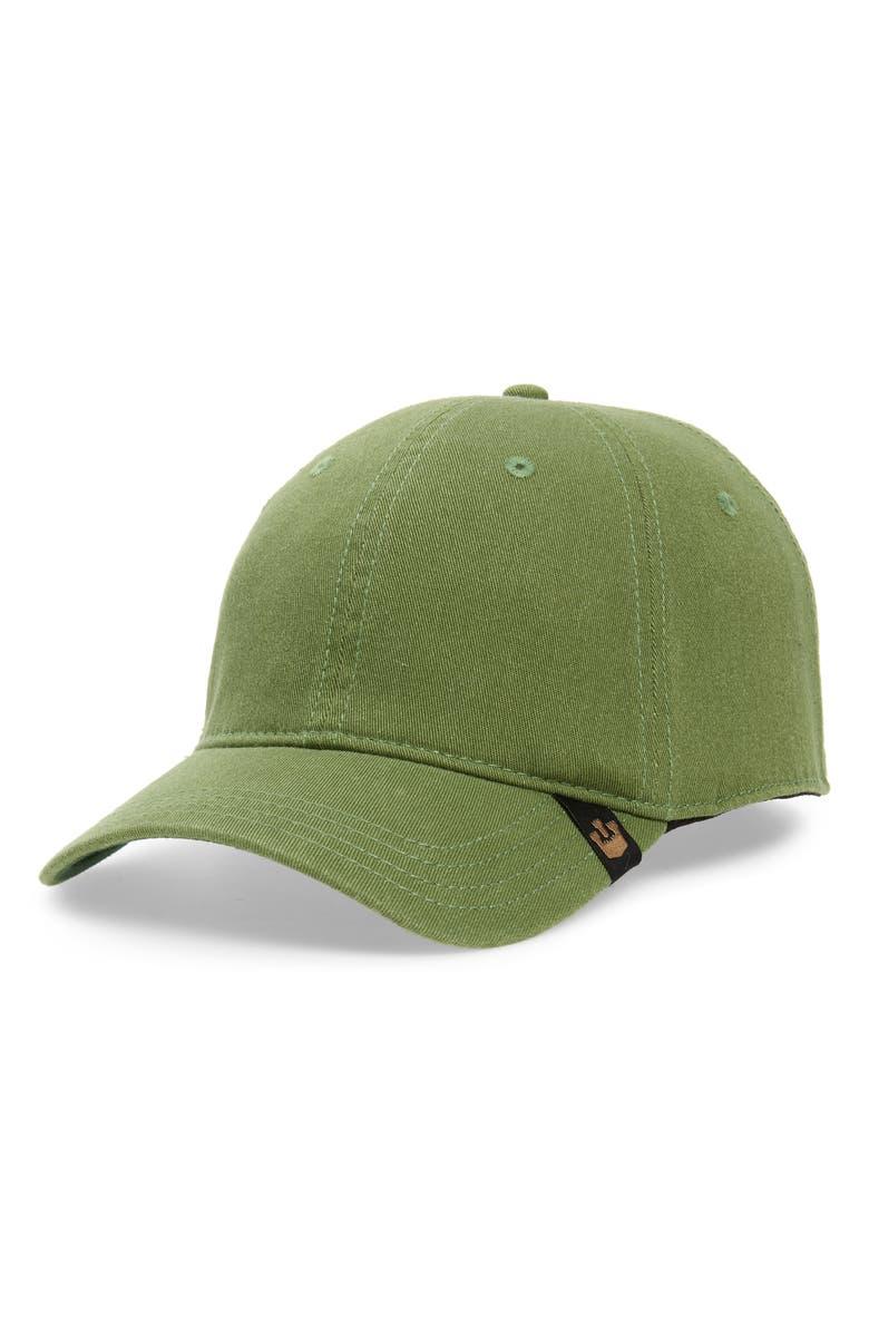 GOORIN BROS. Slayer Baseball Cap, Main, color, MOSS