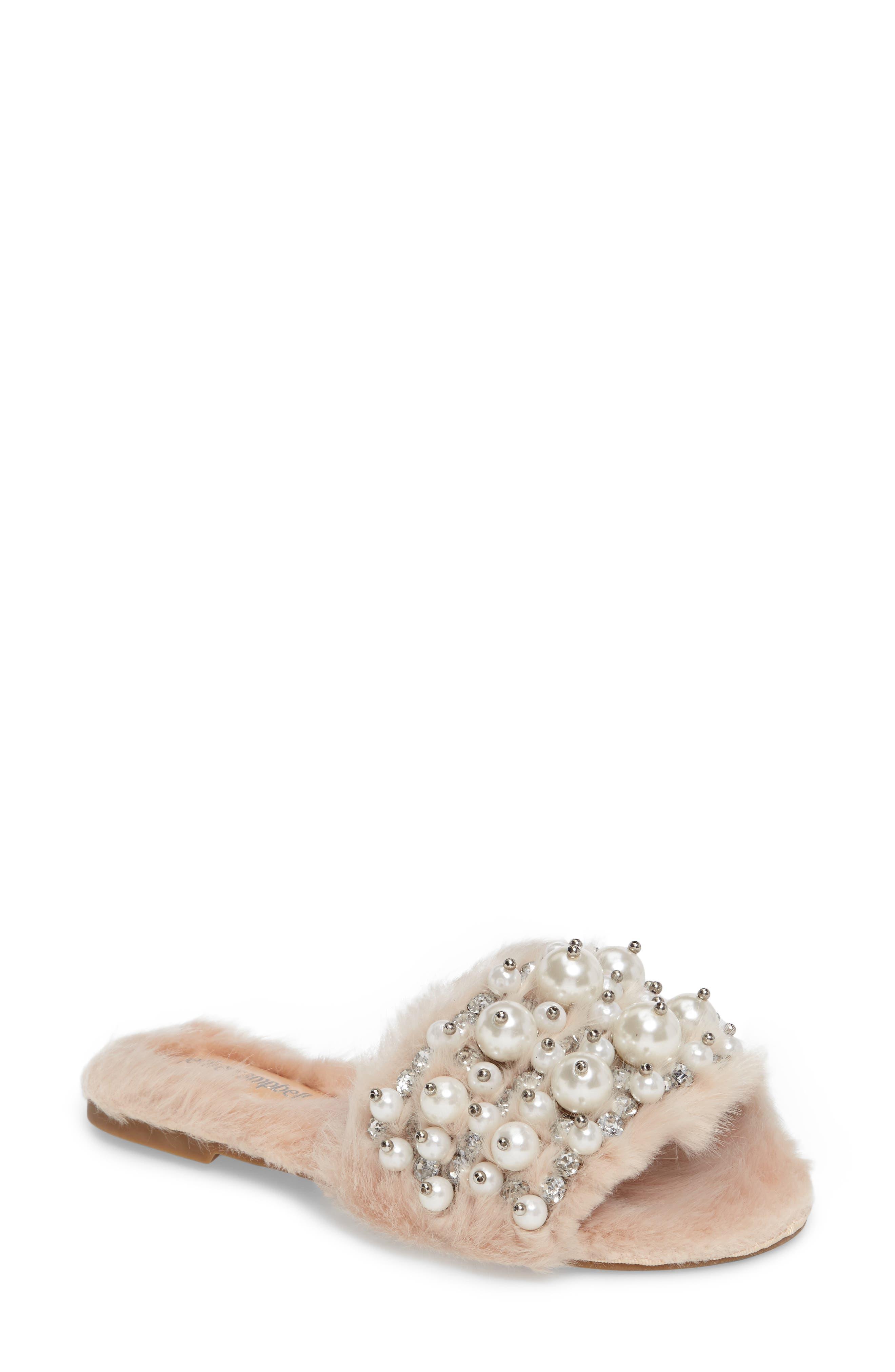 ,                             Facil Embellished Slide Sandal,                             Main thumbnail 7, color,                             287