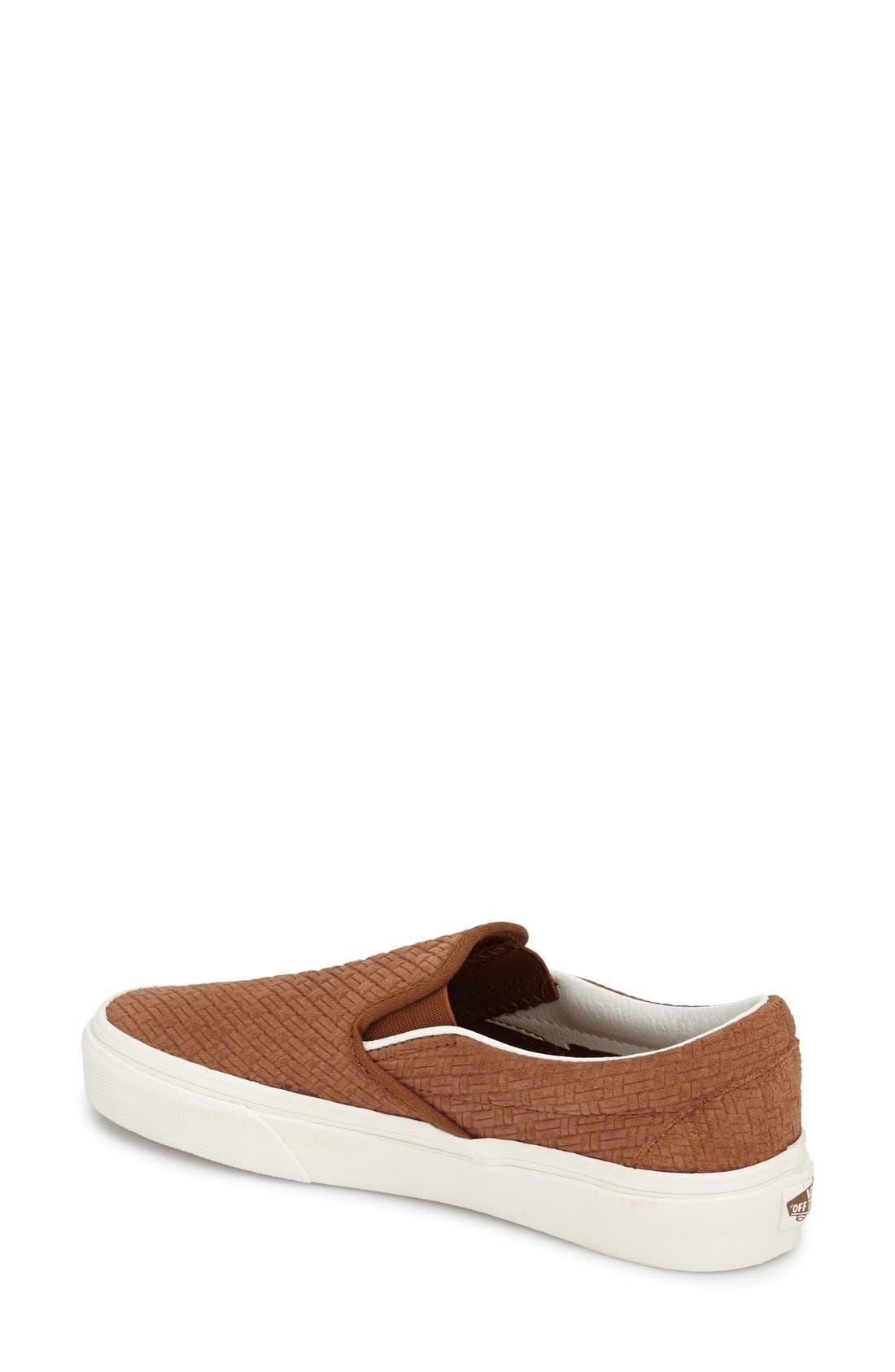 ,                             Classic Slip-On Sneaker,                             Alternate thumbnail 313, color,                             205