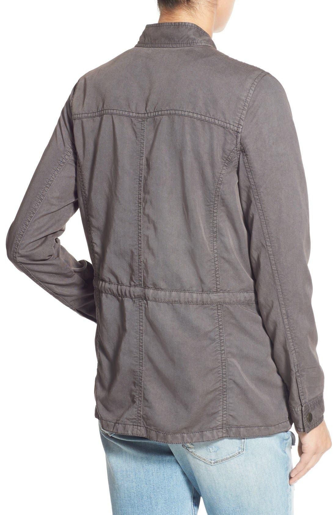 ,                             Drapey Military Jacket,                             Alternate thumbnail 5, color,                             020