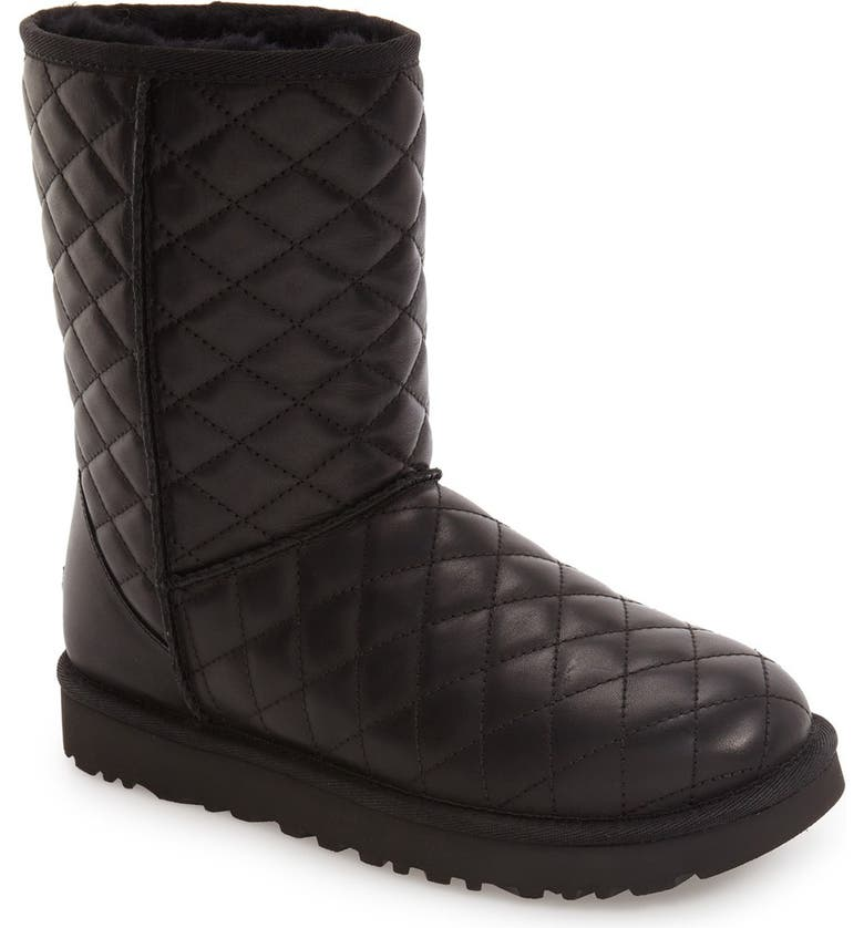 UGG® Classic Short Quilted Boot (Women) | Nordstrom