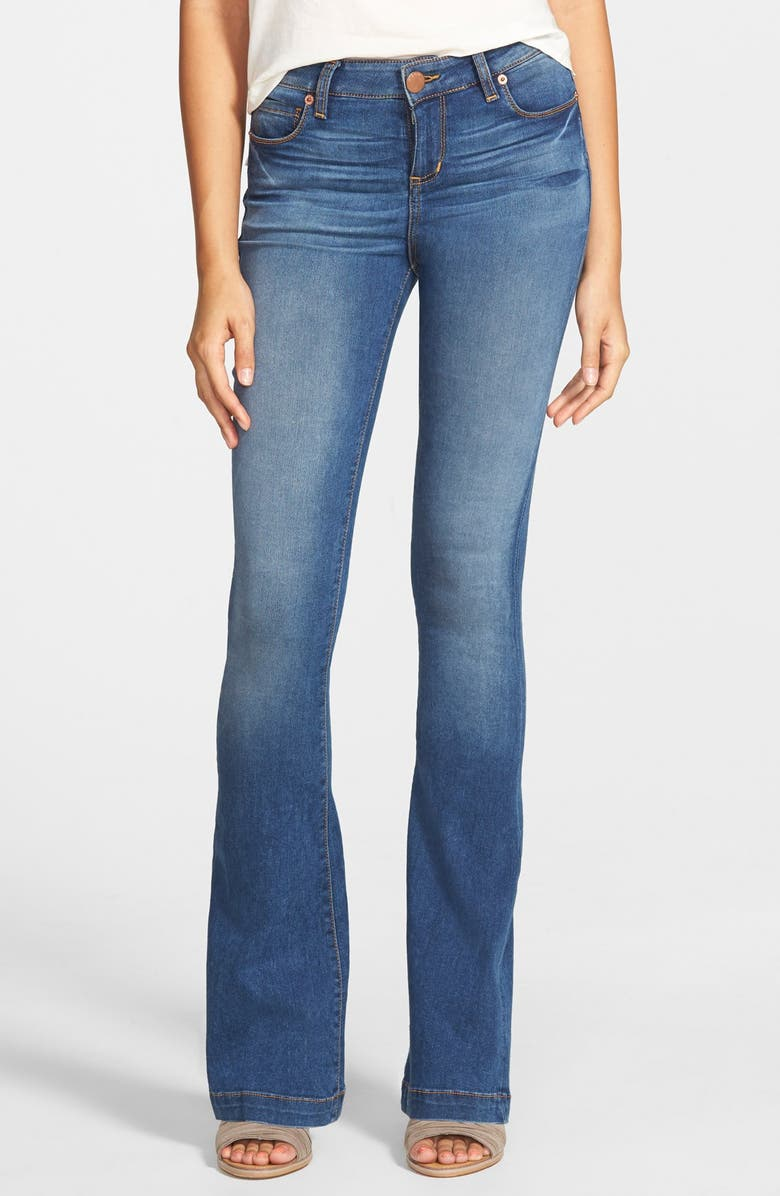 STS BLUE 'Nikki' Flare Jeans, Main, color, 400