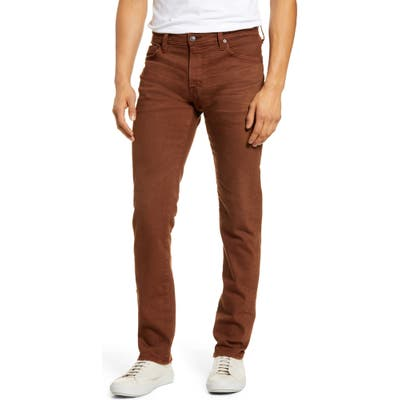 Ag Tellis Slim Fit Jeans Brown