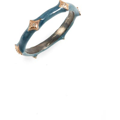 Armenta New World Tsunami Enamel Stack Ring