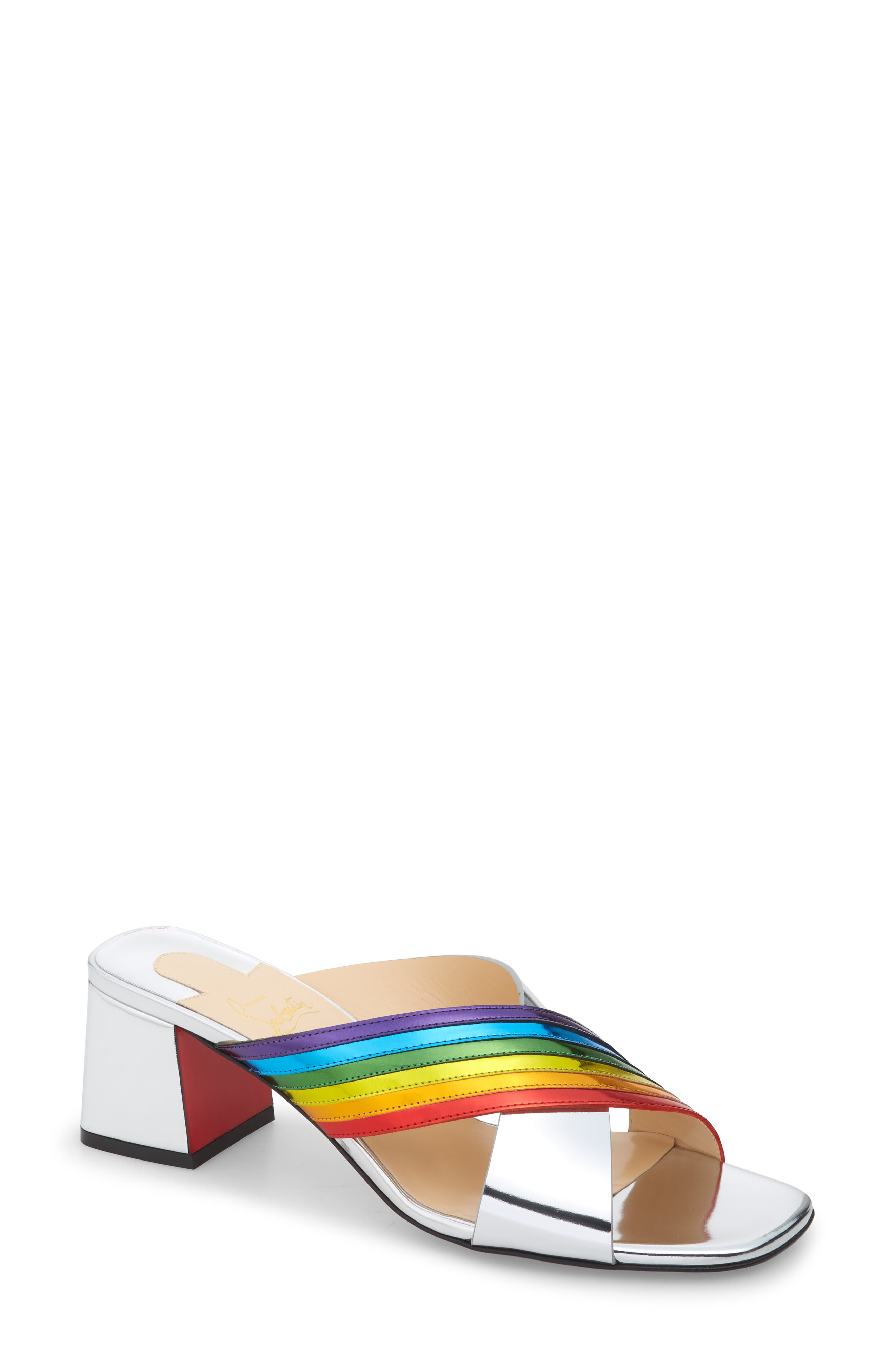 Christian Louboutin Arkenmule Rainbow