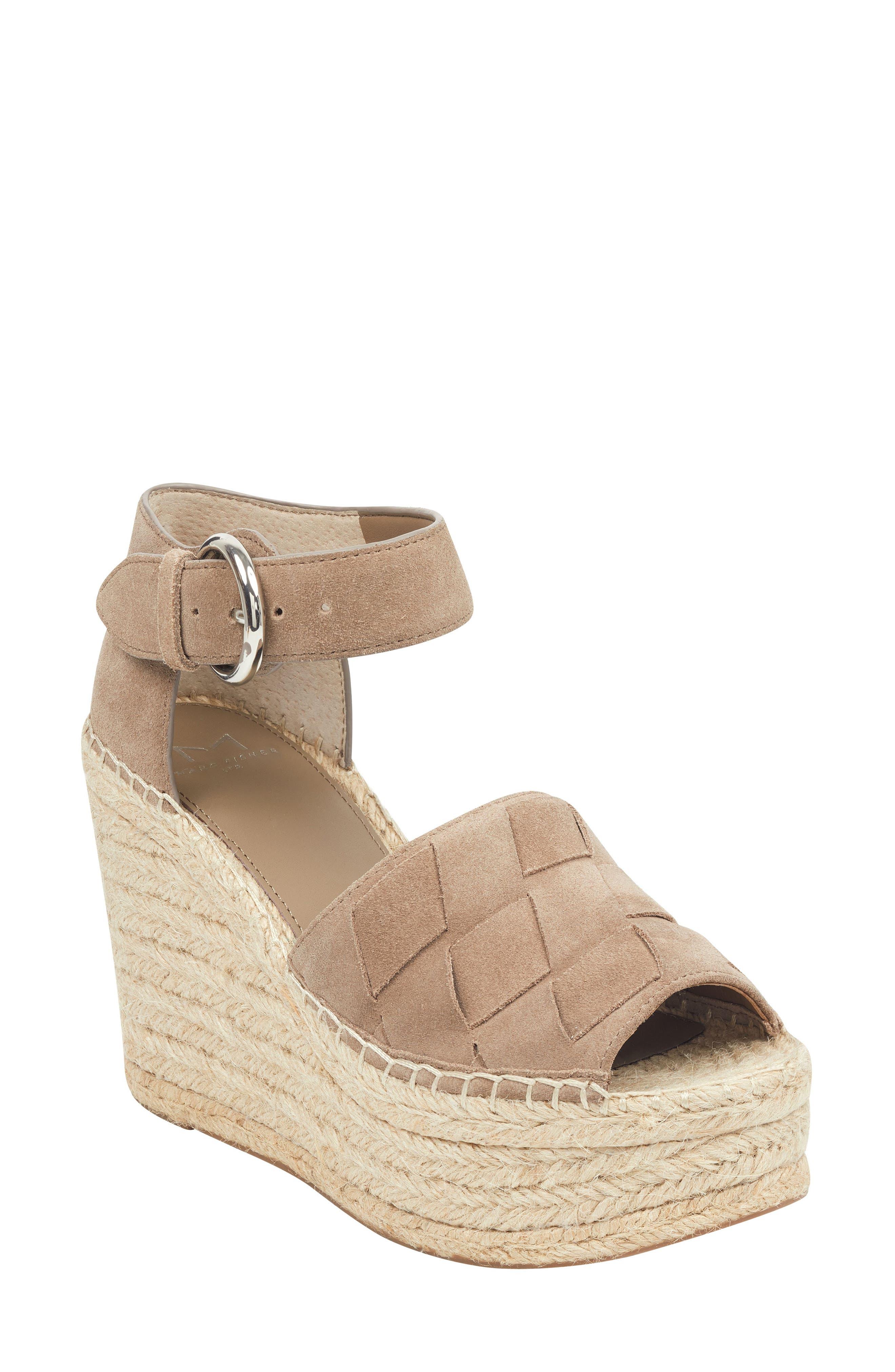 Adalla Platform Wedge Sandal, Main, color, 250