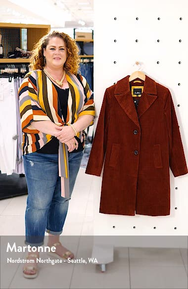 Corduroy Reefer Coat, sales video thumbnail