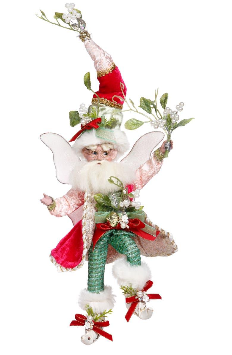 MARK ROBERTS Mistletoe Fairy Figurine, Main, color, MULTI