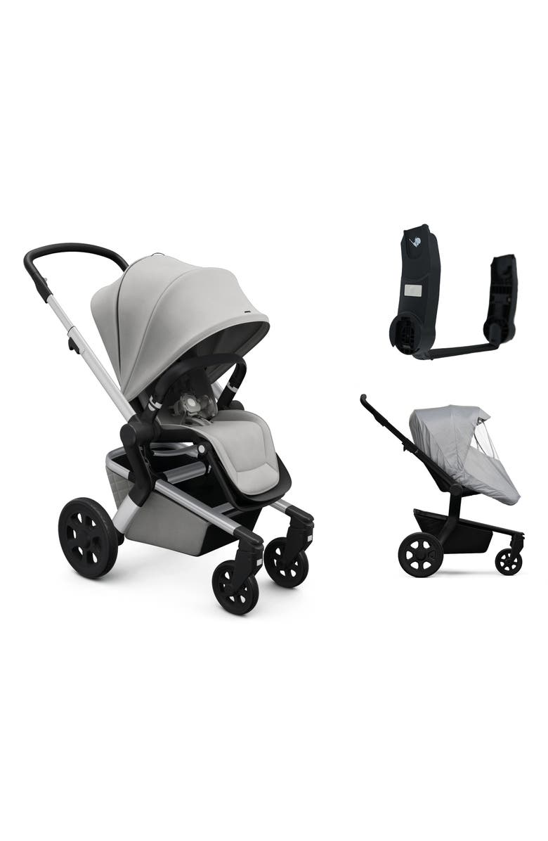 JOOLZ Hub Complete Stroller & Accessories Bundle, Main, color, STUNNING SILVER