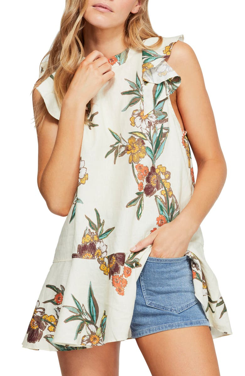 FREE PEOPLE Summer in Tulum Tunic, Main, color, 903