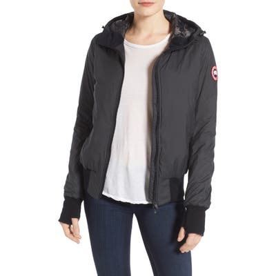 Canada Goose Dore Down Hooded Jacket, Black