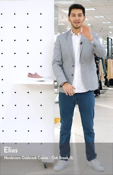 Classic Herringbone Slip-On Sneaker, sales video thumbnail