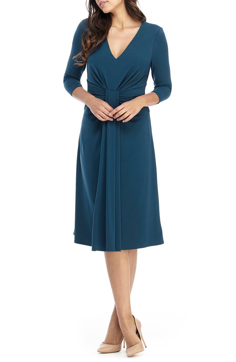 MAGGY LONDON A-Line Jersey Dress, Main, color, 310
