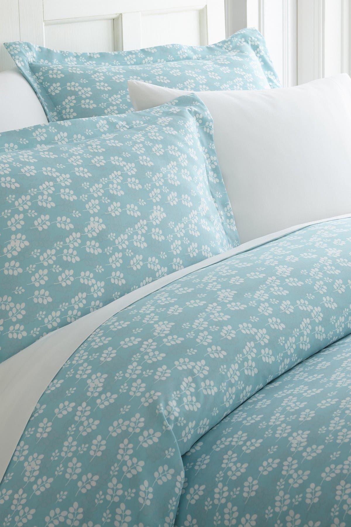 Ienjoy Home Home Spun Premium Ultra Soft Wheatfield Pattern 3-piece Duvet Cover King Set In Pale