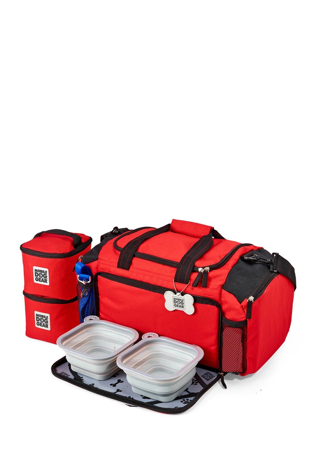 Image of MOBILE DOG GEAR Ultimate Week Away(R) Duffel Bag - Red