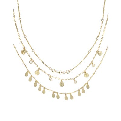 Ettika Set Of 3 Chain Necklaces
