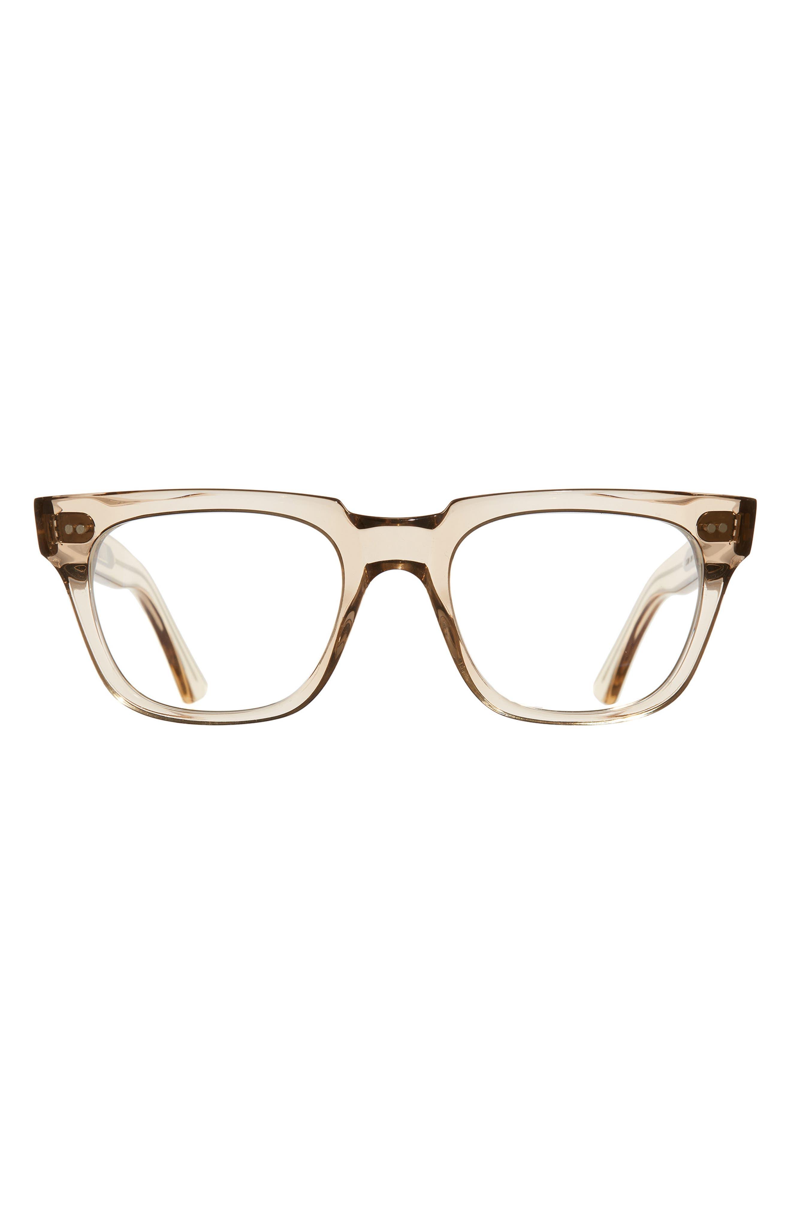 53mm Rectangle Blue Light Blocking Glasses