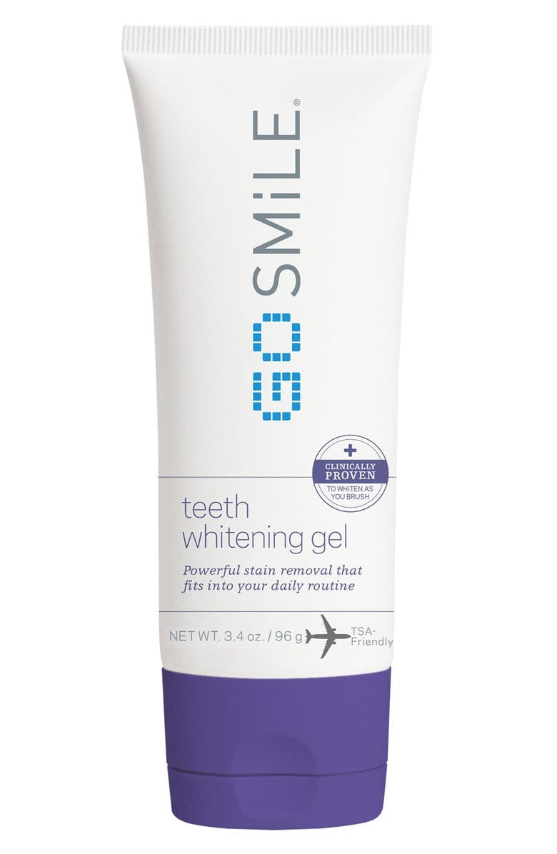GO SMILE<SUP>®</SUP> Teeth Whitening Gel, Main, color, NO COLOR