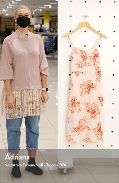 Sleeveless Tie Strap Midi Dress, sales video thumbnail