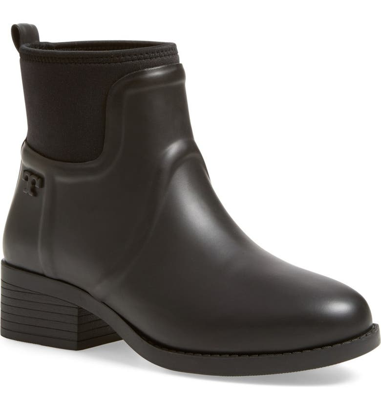 TORY BURCH April Rain Boot, Main, color, 001