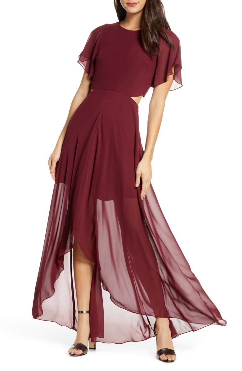 ALI & JAY Cutout Maxi Dress, Main, color, 680