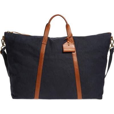 Madewell Canvas Weekend Bag - Black