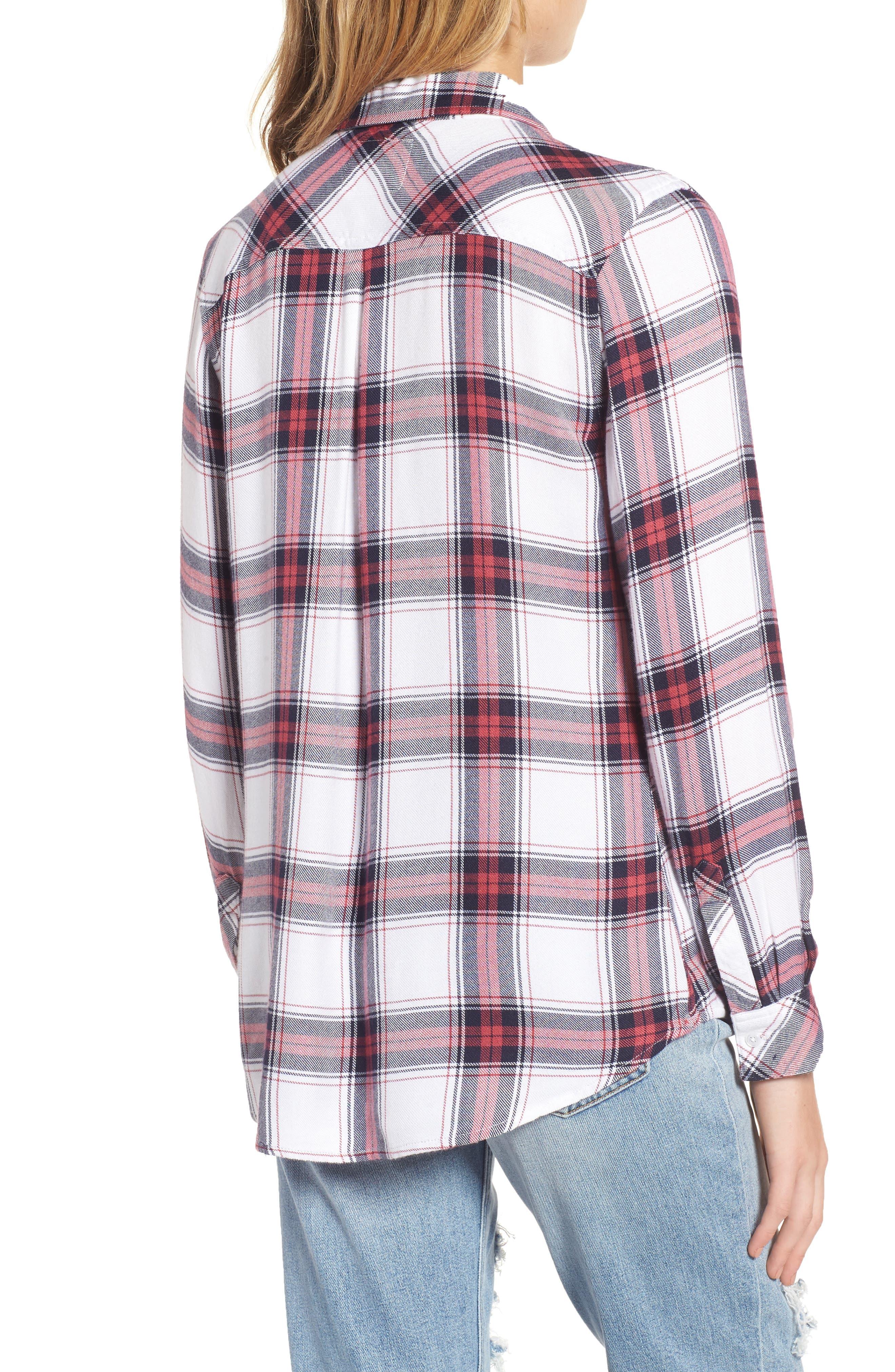,                             Hunter Plaid Shirt,                             Alternate thumbnail 658, color,                             168
