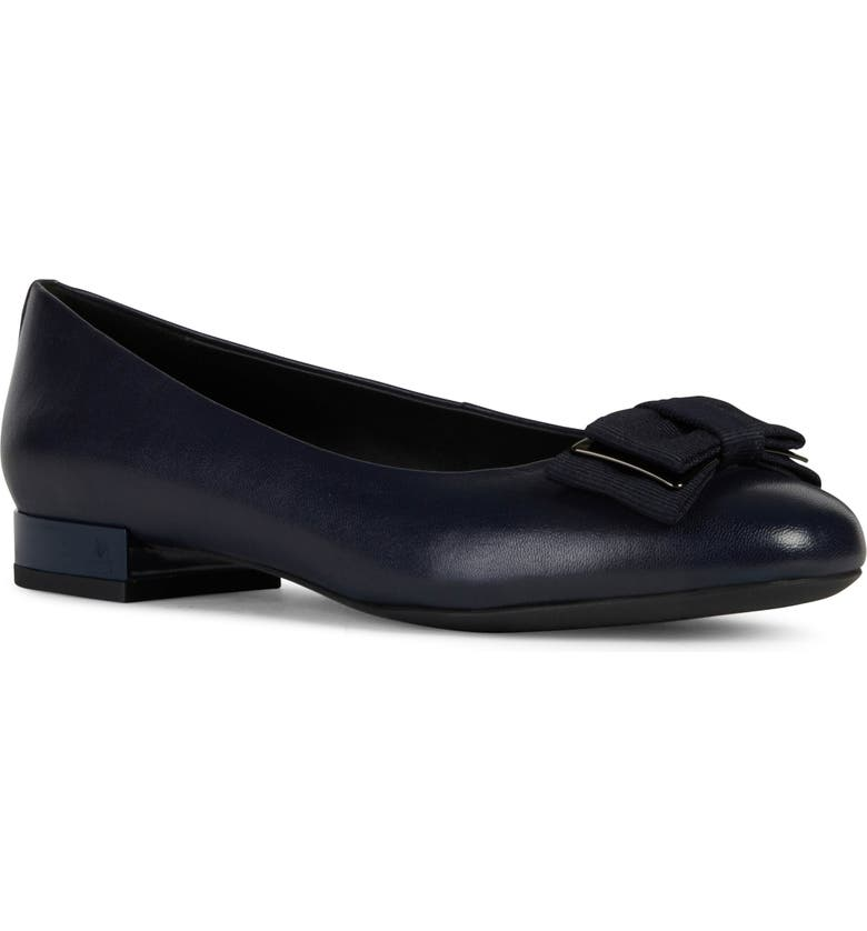 GEOX Wistrey Bow Flat, Main, color, DARK NAVY