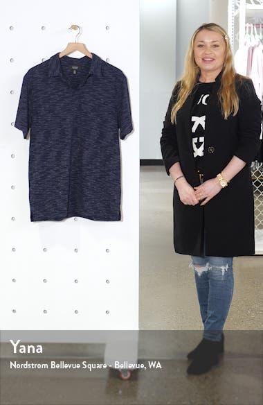 Space Dye Short Sleeve Polo, sales video thumbnail