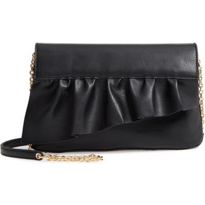 Sole Society Arwen Faux Leather Clutch - Black