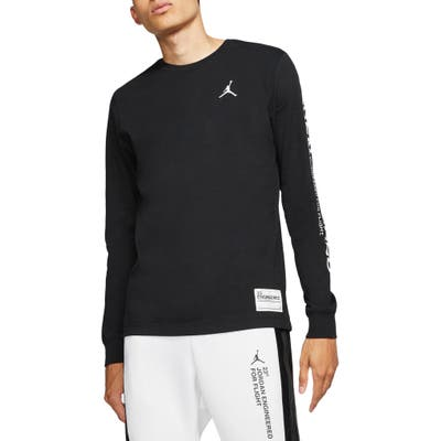 Jordan 23 Engineered Long Sleeve T-Shirt, Black