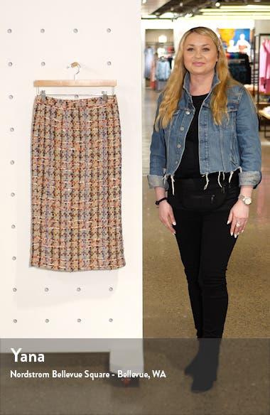 Tweed Pencil Skirt, sales video thumbnail