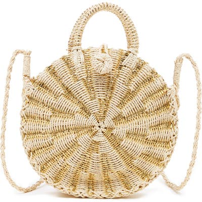 Sole Society Corby Round Papyrus Tote - Beige