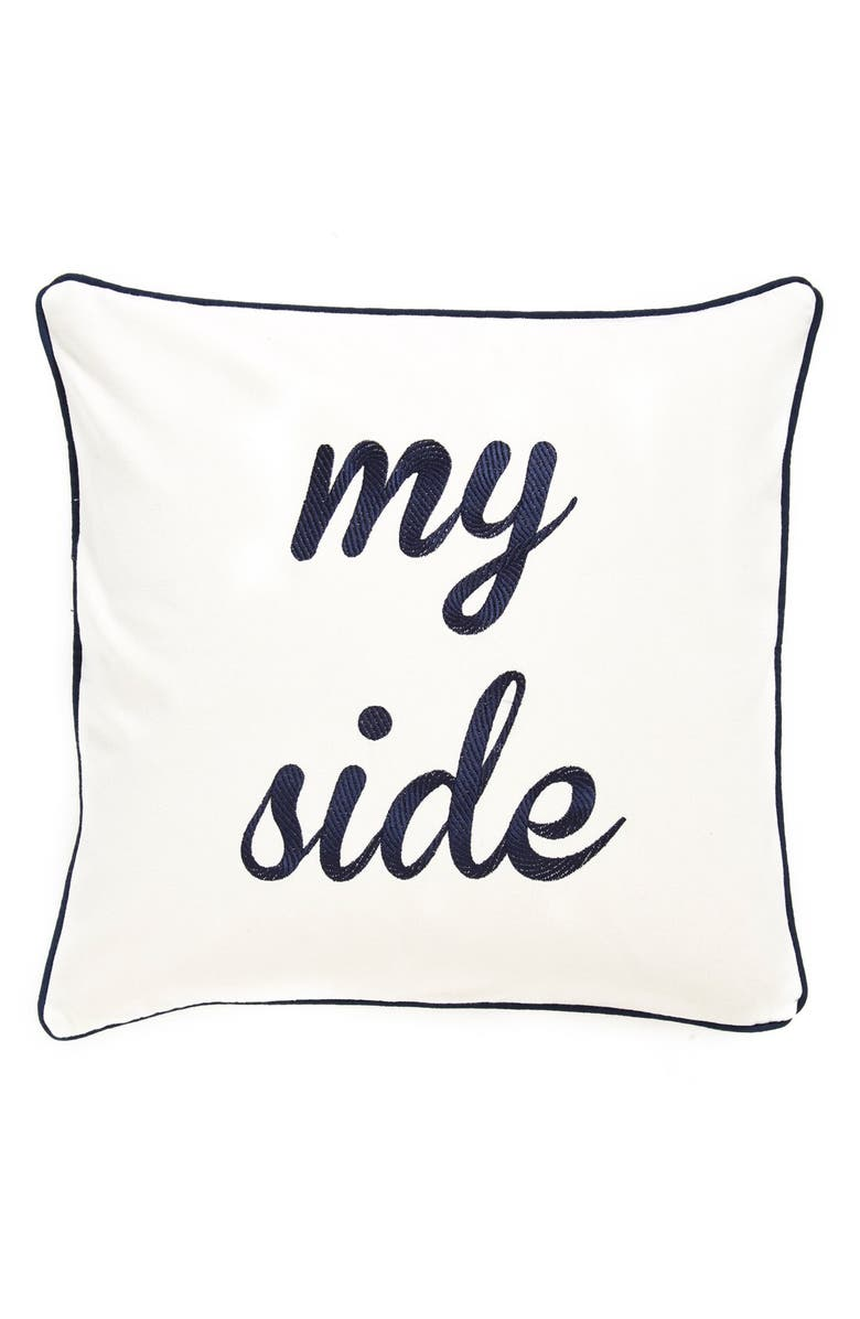 LEVTEX 'My Side/Your Side' Pillow, Main, color, 250
