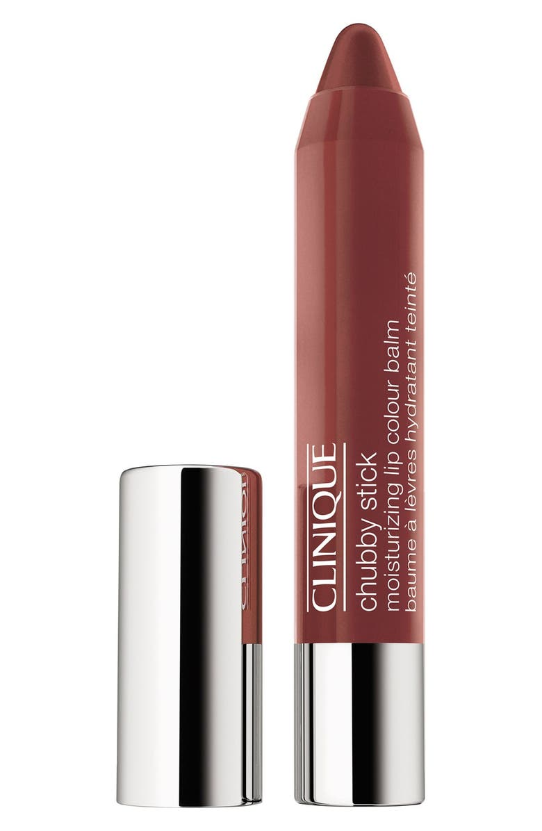 CLINIQUE Chubby Stick Moisturizing Lip Color Balm, Main, color, FULLER FIG